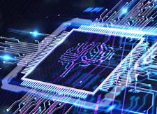 Photo of Computer Chip